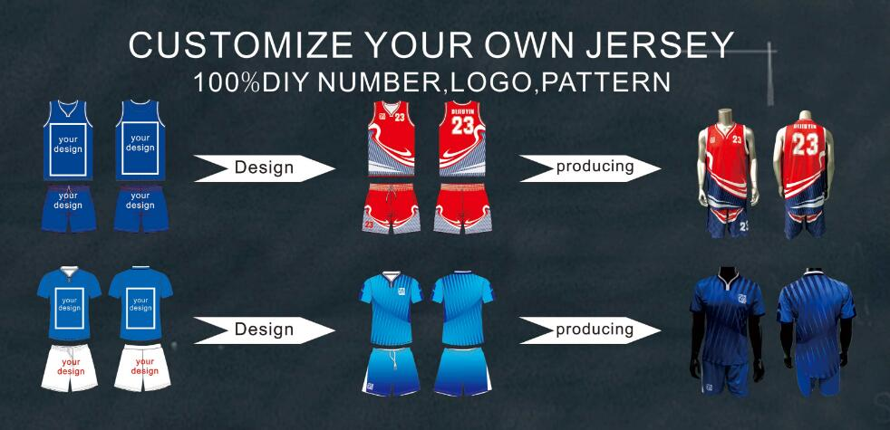 customize design jersey