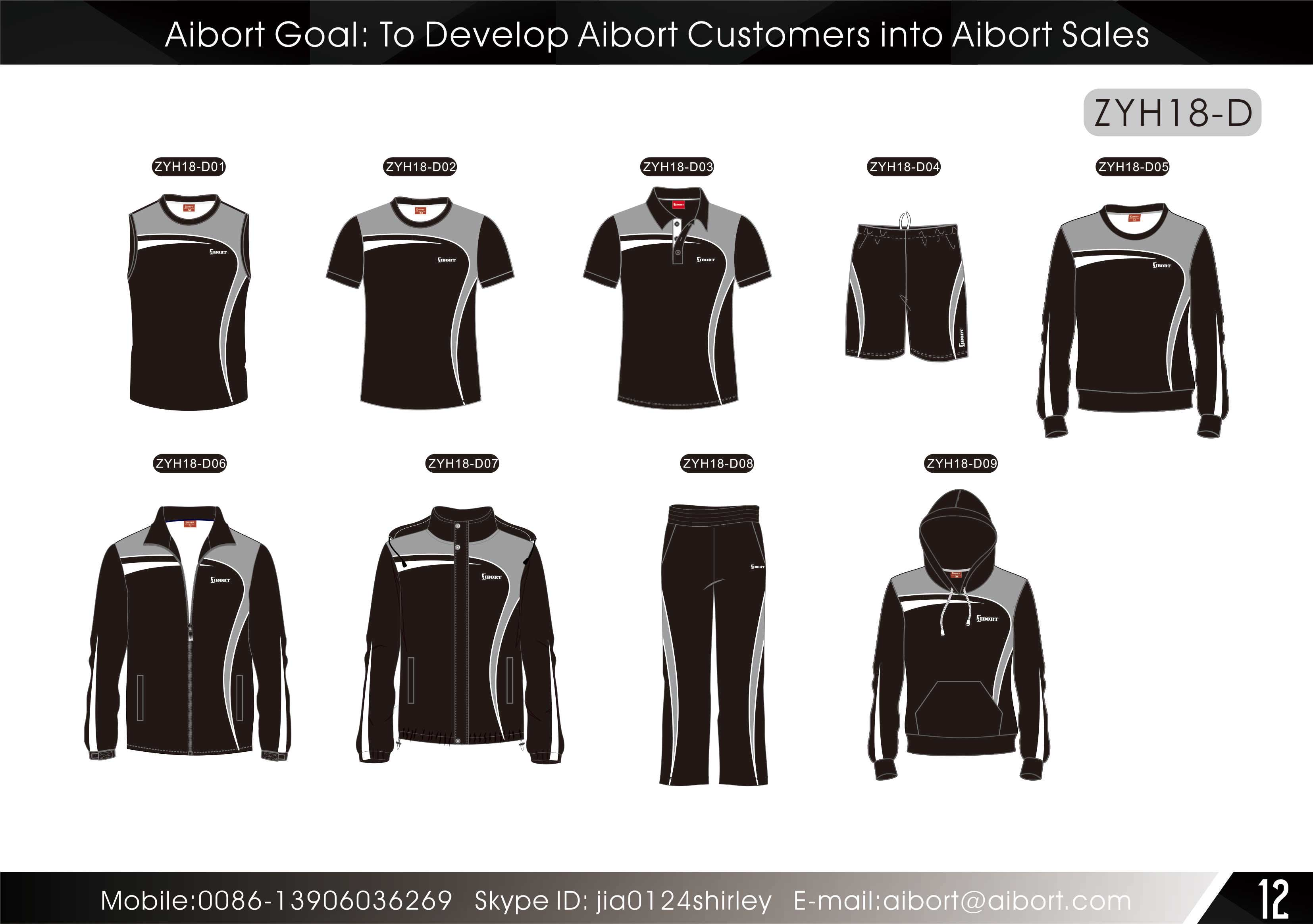 Dyed sublimation sportswear